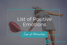 List of Positive Emotions